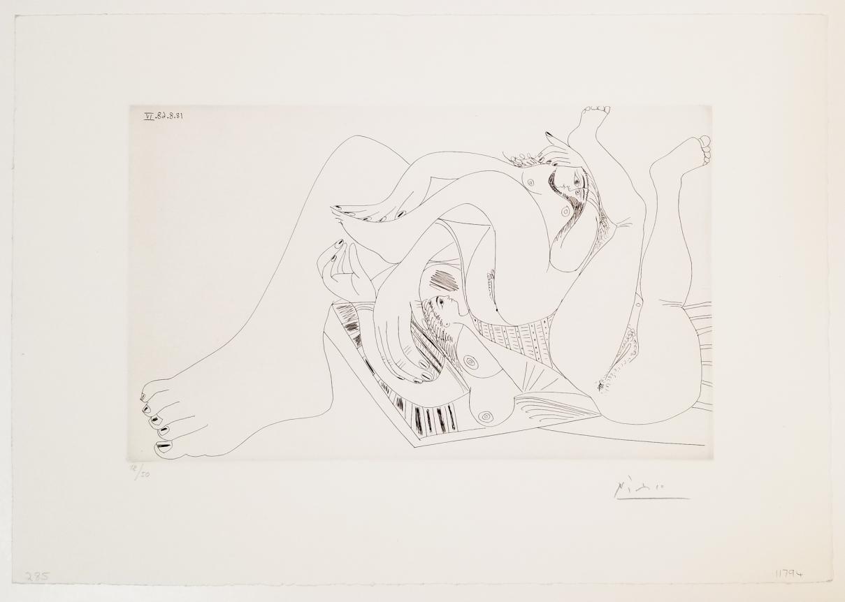 Pablo Picasso, Deux Femmes Batifolant...