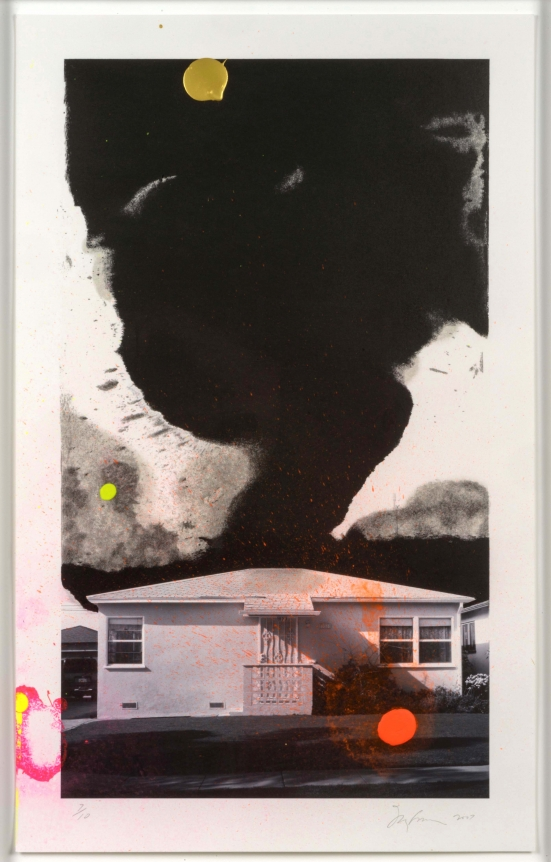 Joe Goode, House Tornado, Lithograph