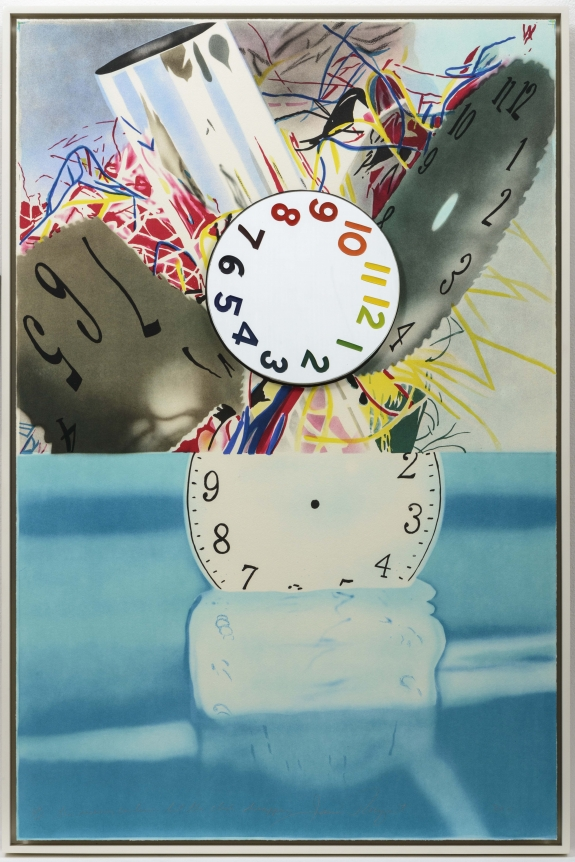 James Rosenquist, The Memory Continues but the Clock disappears, Lithograph