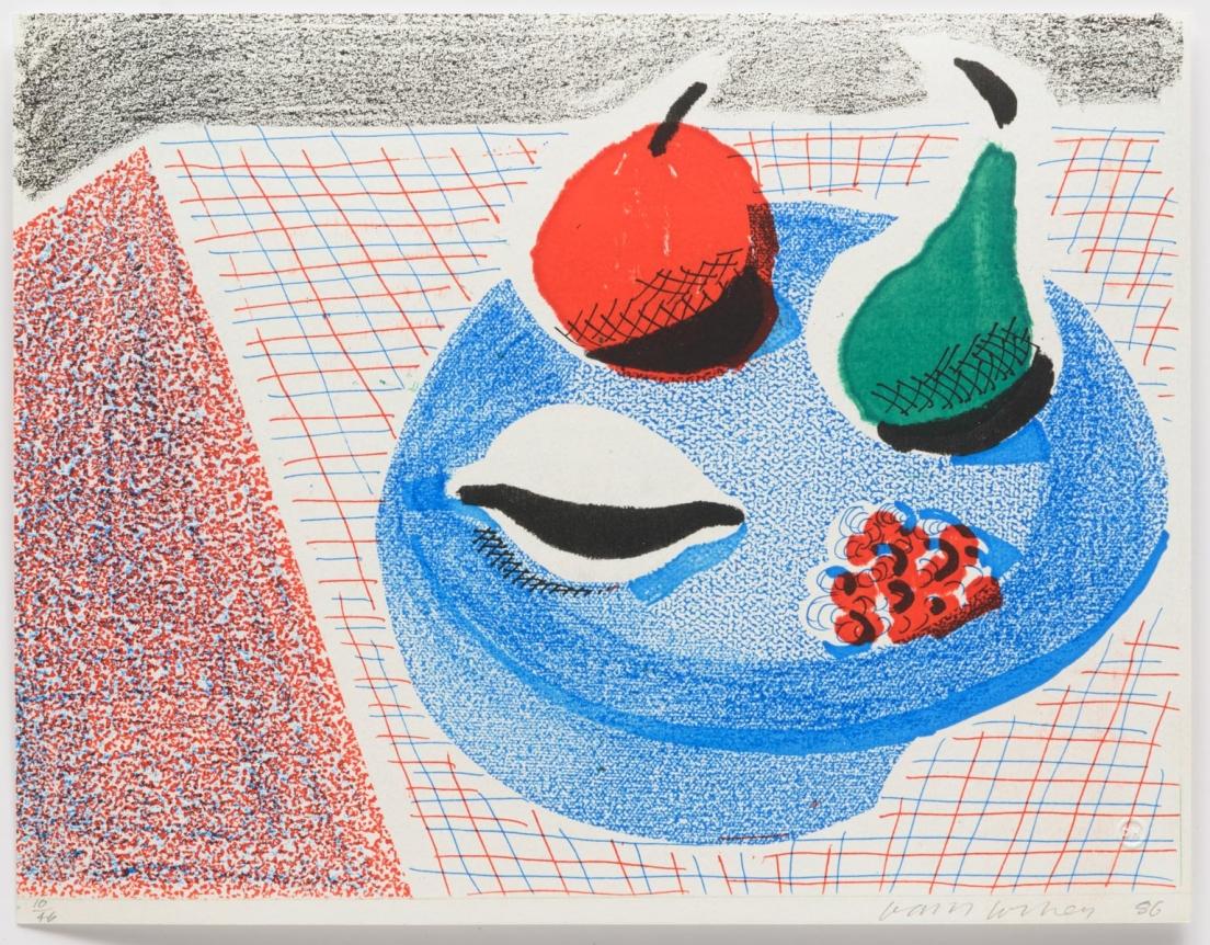 David Hockney, The Round Plate, April 1986