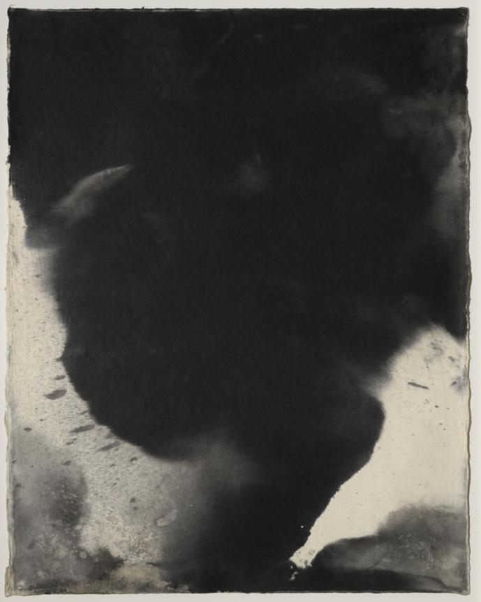 Joe Goode, Sherman (TORd 20), Sumi Ink on Washi paper, 1991