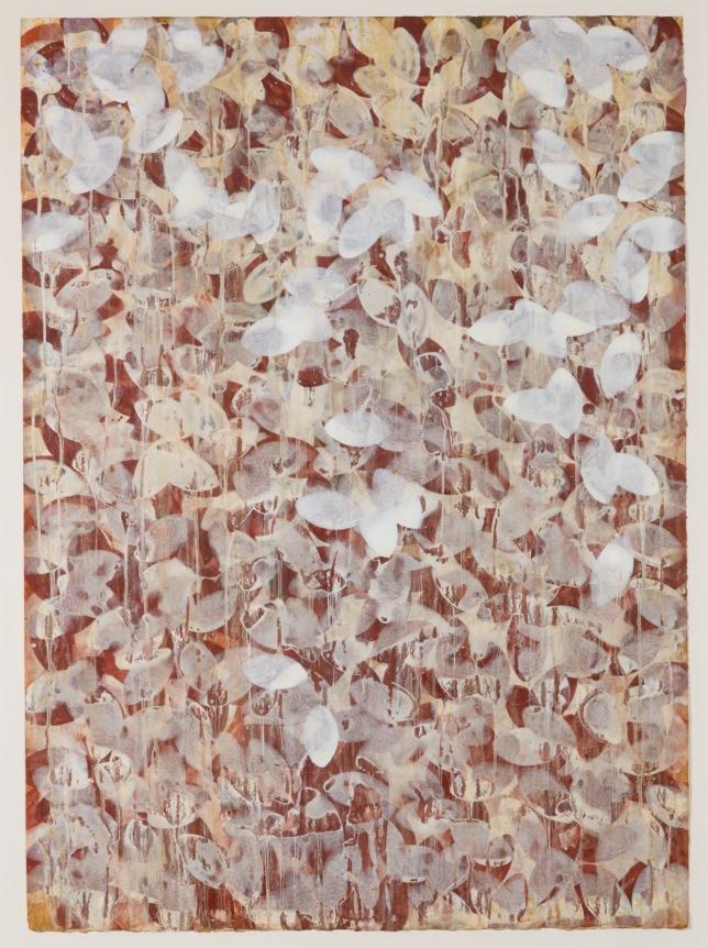 Marc Katano, Zinc, Acrylic on paper