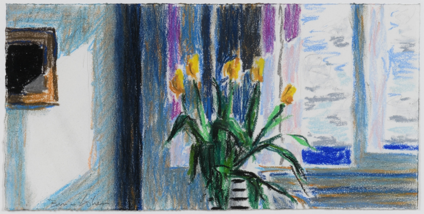 Bruce Cohen, Untitled #3, 2016, Pastel on paper, Signed in pencil