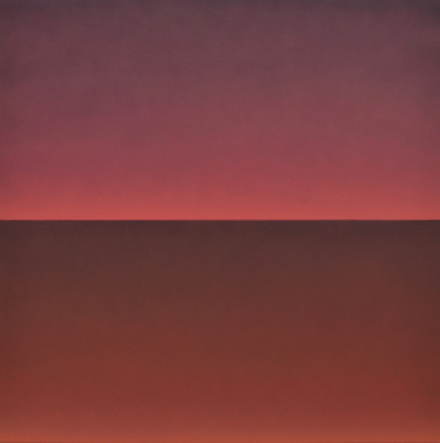 Alex Weinstein, Double Negative 6, diptych, acrylic on panel