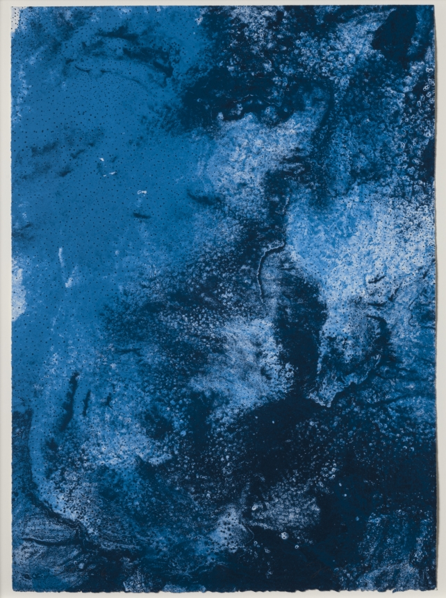 Joe Goode, Ocean Blue lithograph 23 (Color Test Print #6), 1990