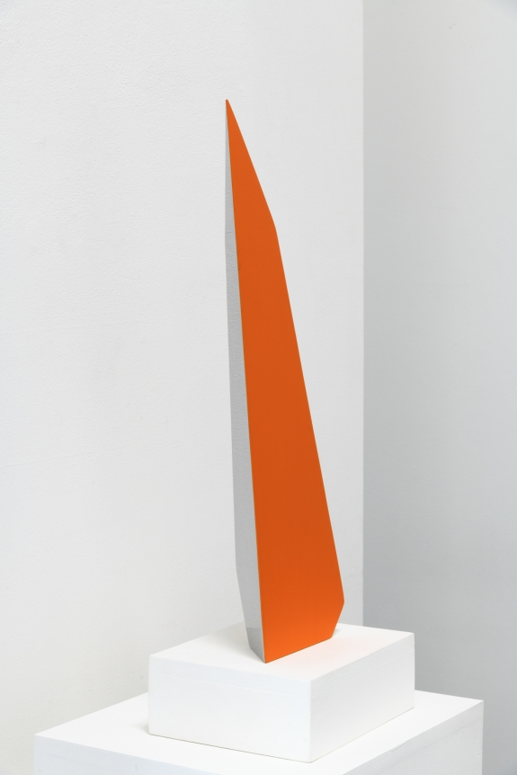 Jon Krawcyzk, 2019, Wedge, Stainless steel and automotive paint