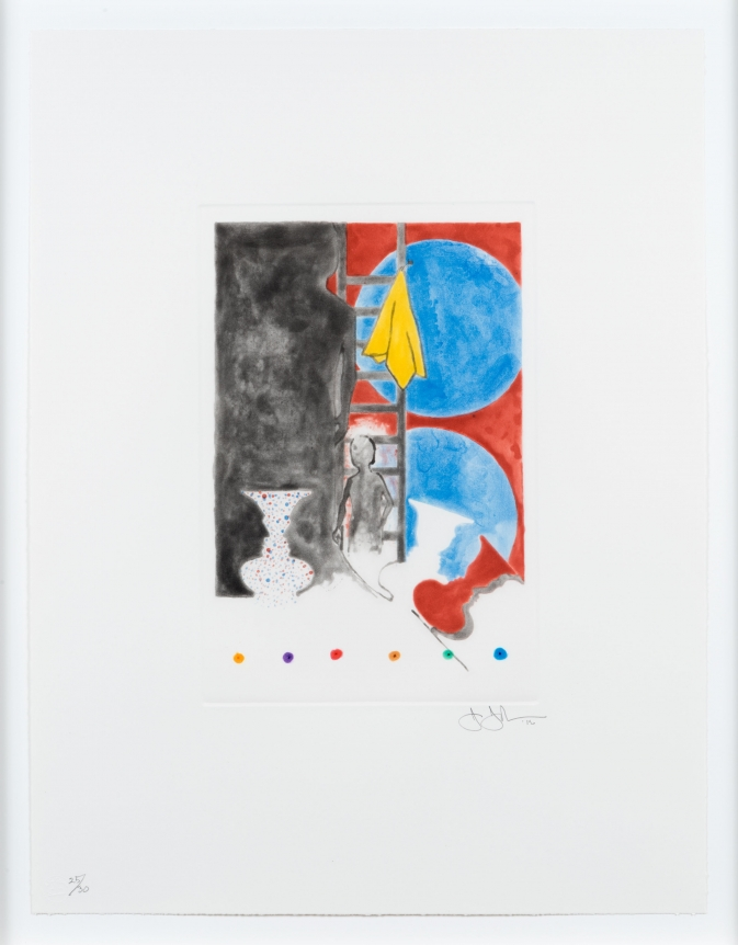 Jasper Johns, Untitled, Intaglio
