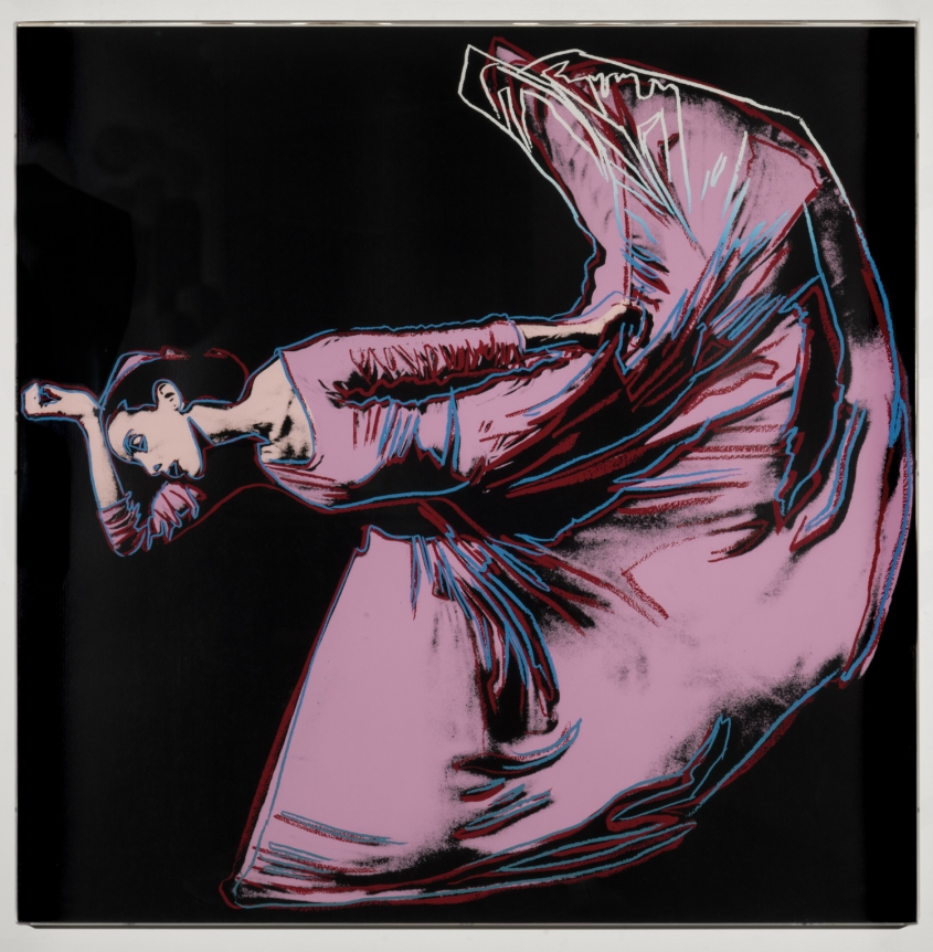 Andy Warhol, Letter to the World (The Kick), from Martha Graham, 1986