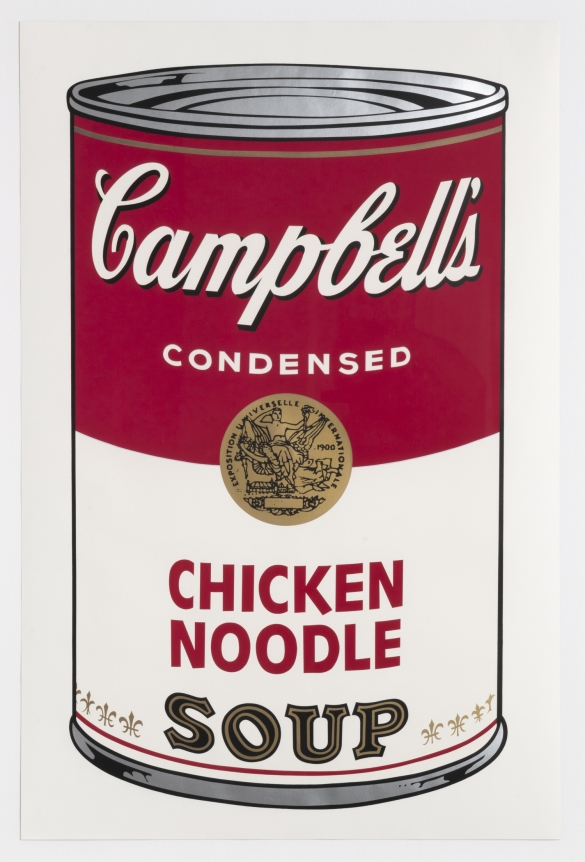 Andy Warhol, Chicken Noodle from Campbell's Soup I, Screenprint
