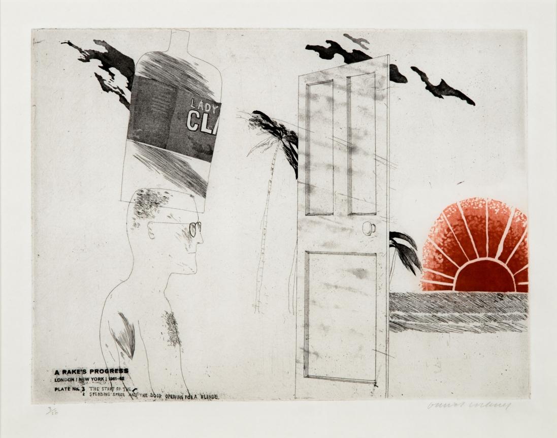 David Hockney, Etching