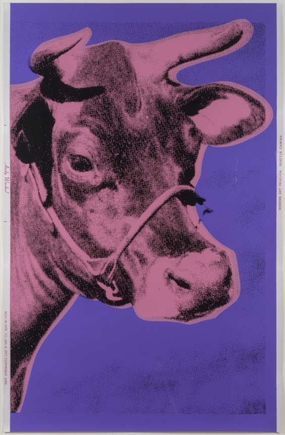 Andy Warhol, Cow, Screenprint