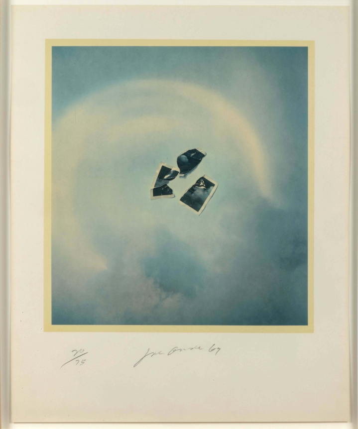 Joe Goode, Photo Cloud (Blue), Lithograph