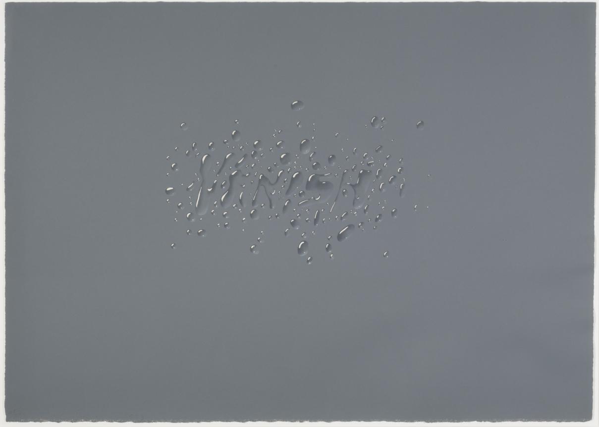 Ed Ruscha, Vanish, 1973, Lithograph