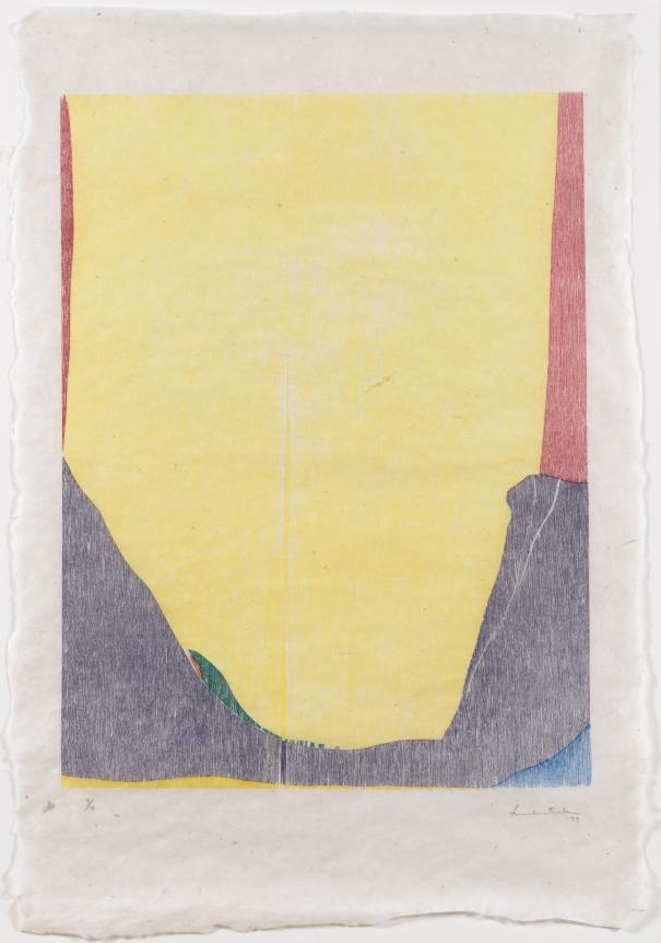 Helen Frankenthaler, East and Beyond, Woodcut