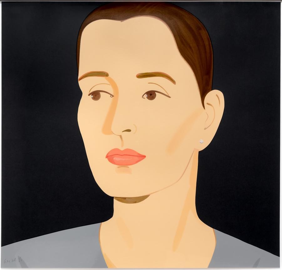 Alex Katz, Vivien, Silkscreen