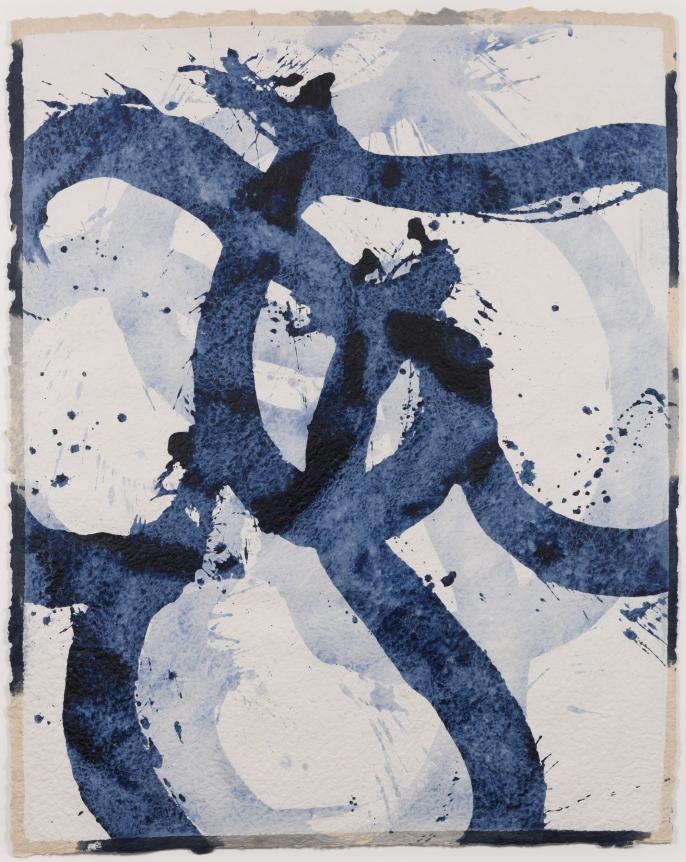 Marc Katano, Adagio, 2017, Acrylic and ink