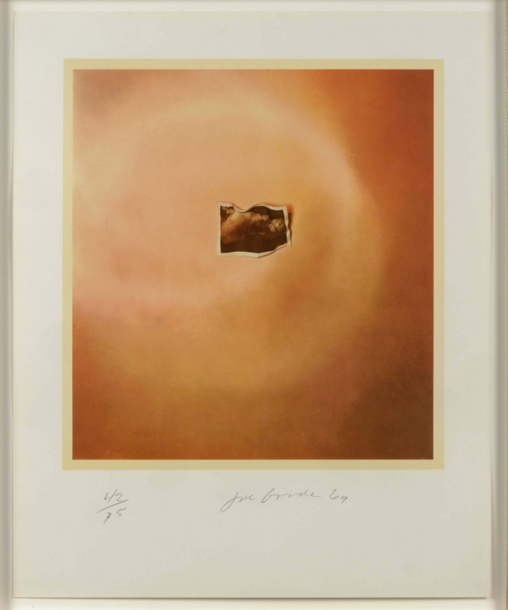 Joe Goode, Photo Cloud (Orange), Lithograph