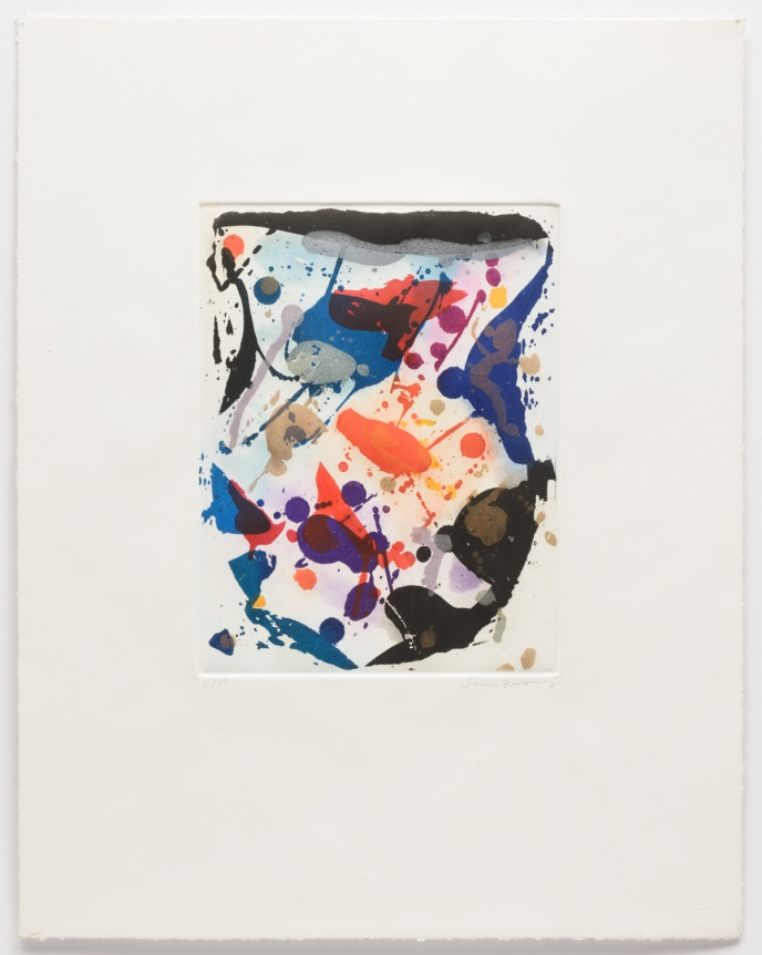 Sam Francis, Untitled, Aquatint