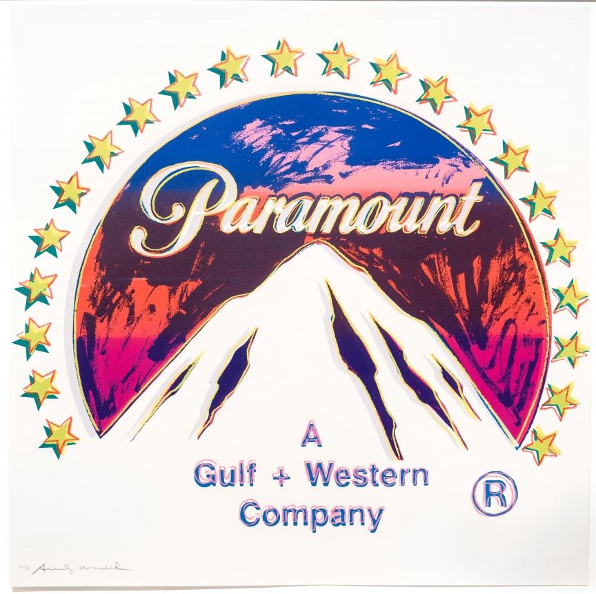 Andy Warhol, Paramount, Silkscreen