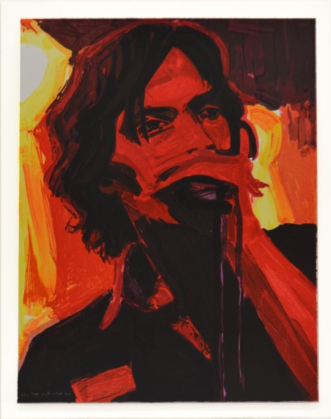 Julian, 2006, Ukiyo-E Eoodblock print