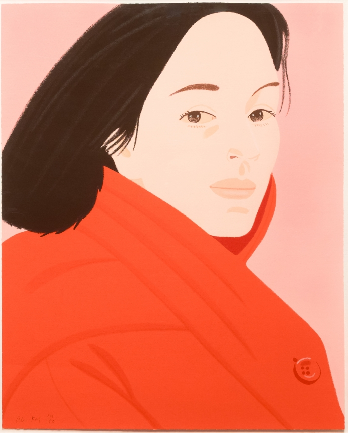 Alex Katz, Brisk Day II, Lithograph