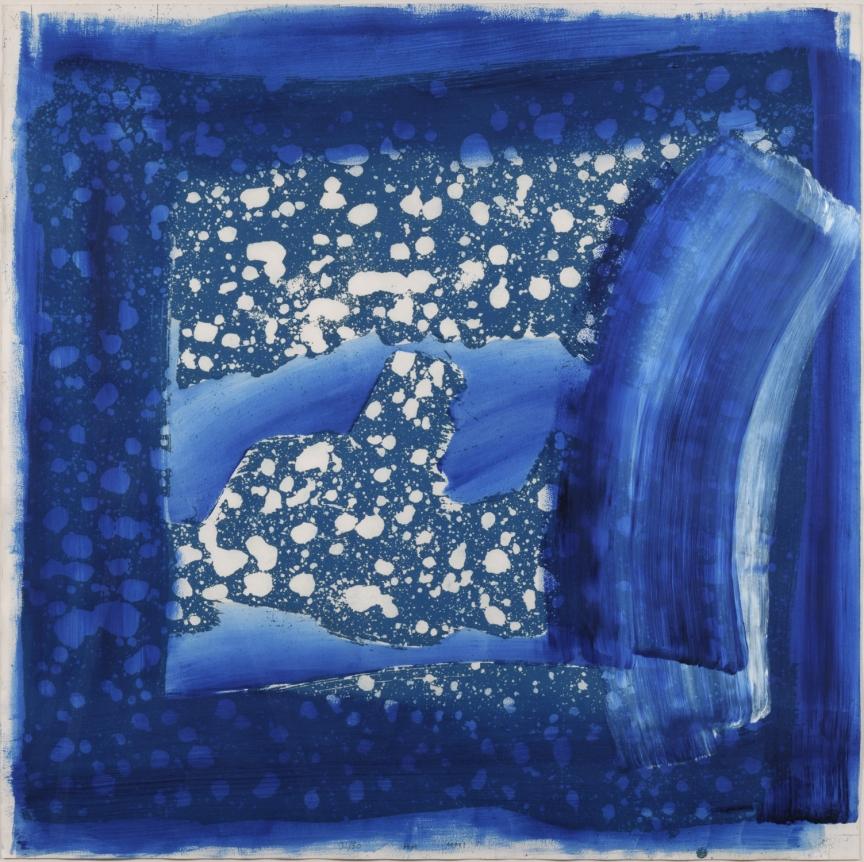 Howard Hodgkin, Frost, Aquatint, Etching