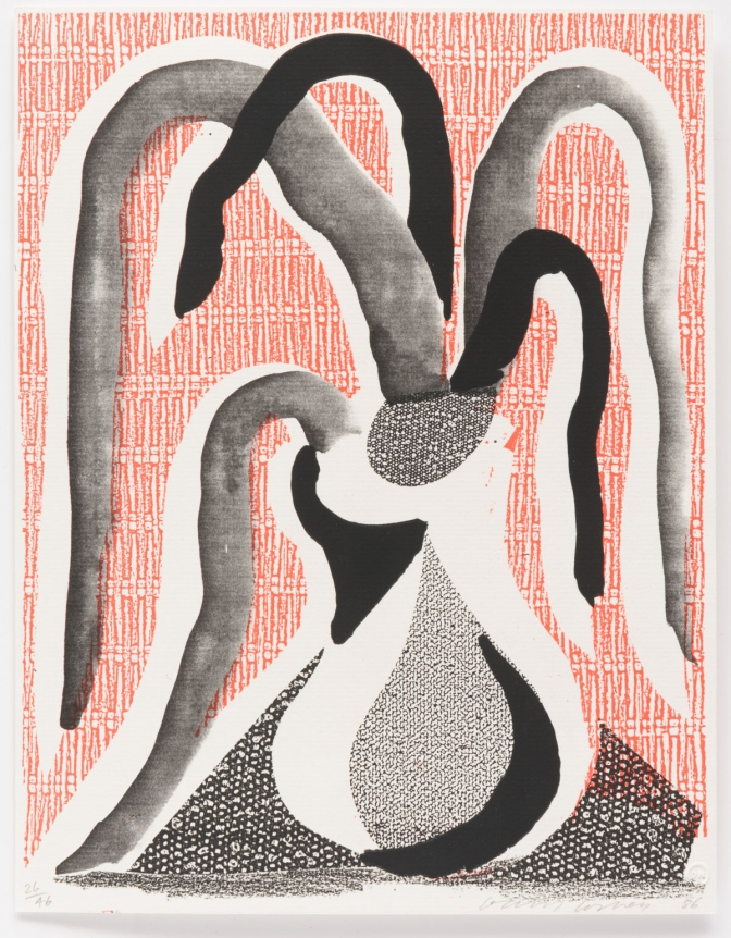 David Hockney, The Drooping Plant, June 1986
