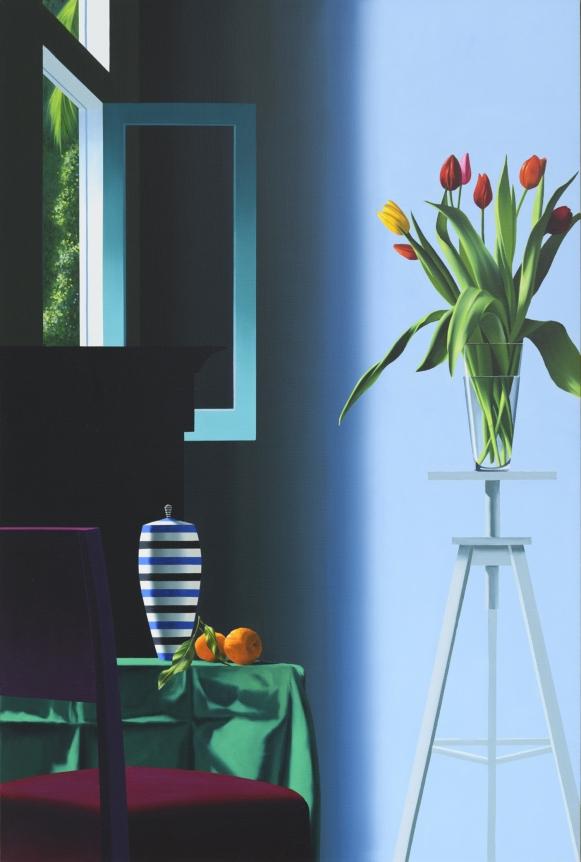 Bruce Cohen, Flowers on Tripod
