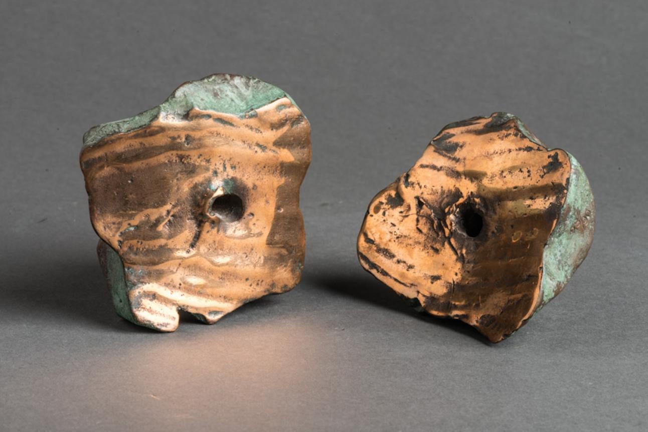 Lucio Fontana, Concetto Spaziale, Bronze Sculpture