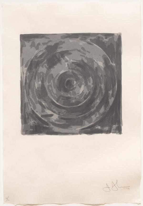 Jasper Johns, Target, Silkscreen