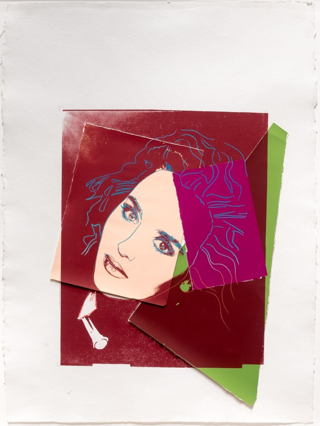 Andy Warhol, Portrait of Isabelle Adjani, Screenprint