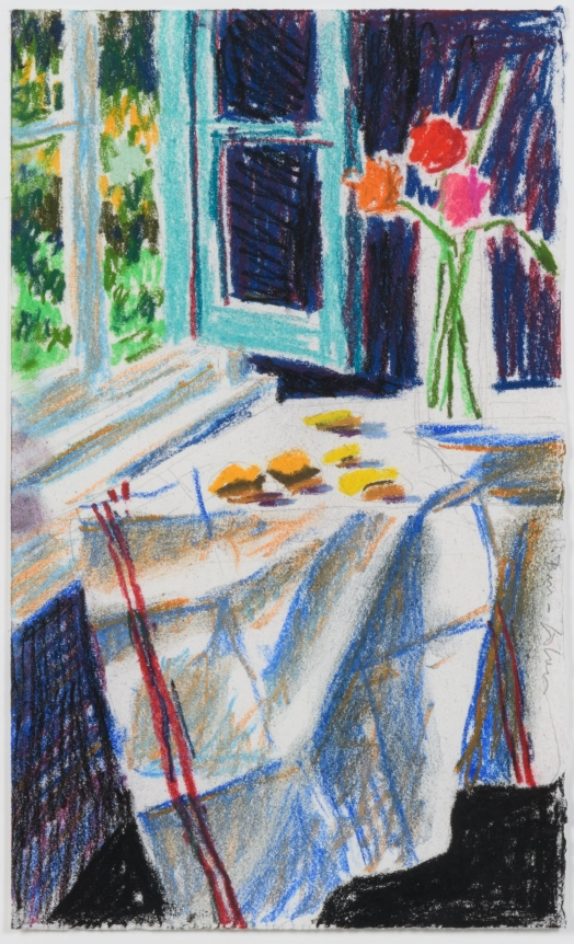 Bruce Cohen, Untitled #5, Pastel on paper, Signed in pencil, 2010