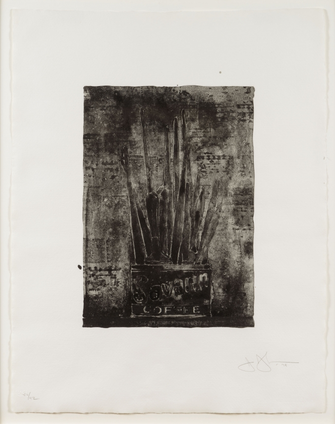 Jasper Johns, Savarin (Cookie), Lithograph