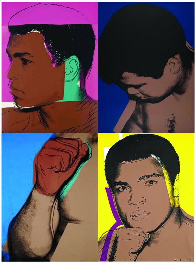 Andy Warhol, Muhammad Ali, Screenprint