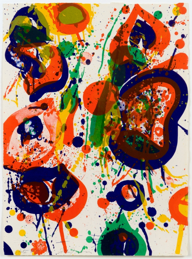 Sam Francis, Untitled, 1993, Lithograph, Print