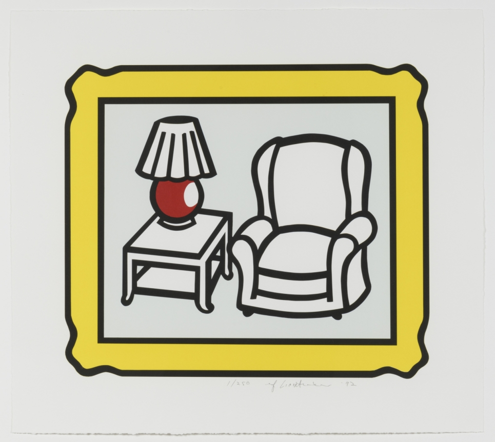 Roy Lichtenstein, Red Lamp, 1992