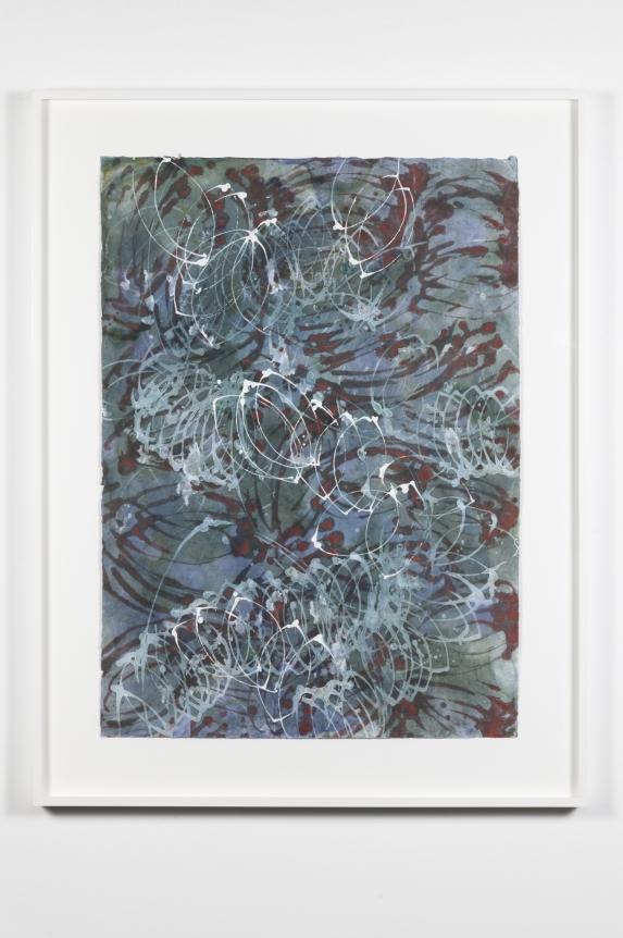 Marc Katano, New York Loops, monotype, 2006