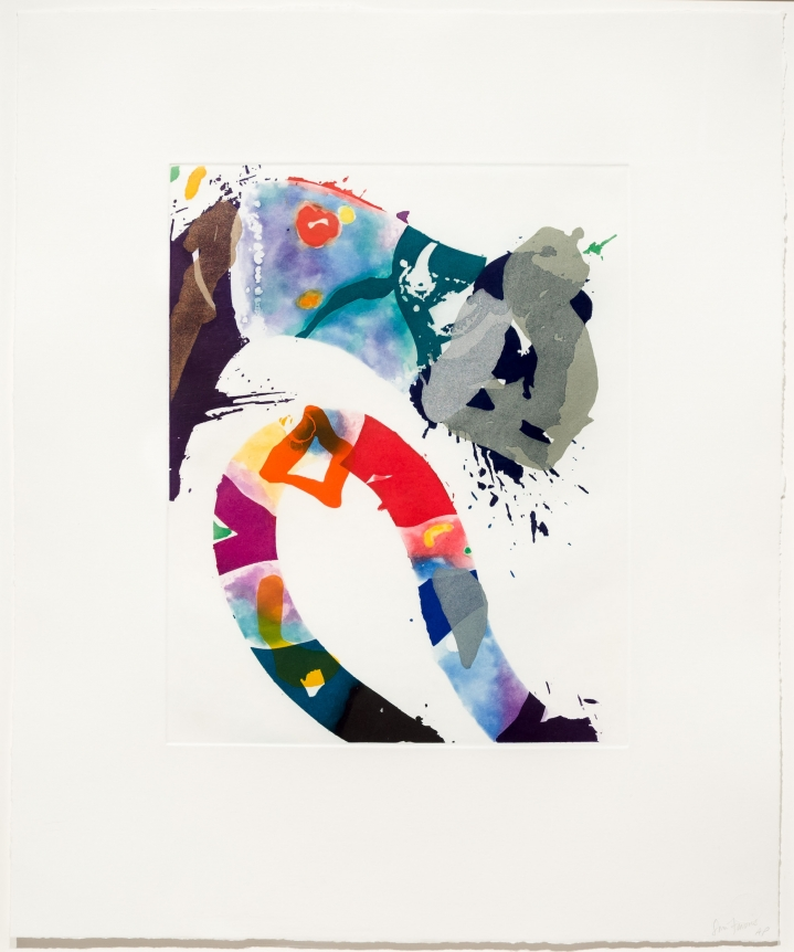 Sam Francis, Untitled, 1993, Etching, Signed print