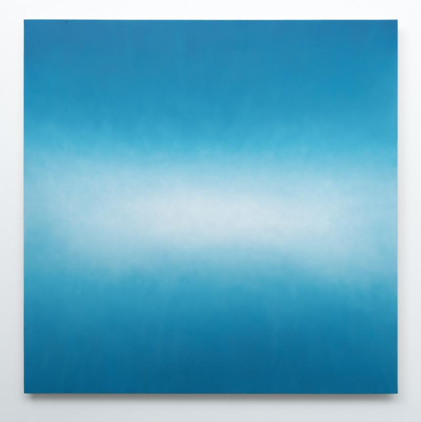 Alex Weinstein, Untitled (Low Frequencies), 2017, Oil on canvas