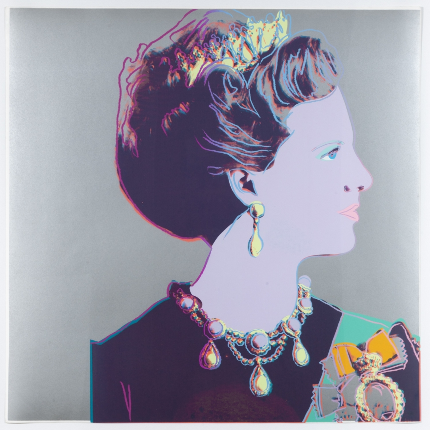 Andy Warhol, Queen Margrethe II of Denmark, from the Reigning Queens
