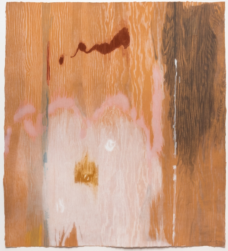 Helen Frankenthaler, Tales of Genji VI, 1998, Woodcut, Abstract, Expressionism, Signed