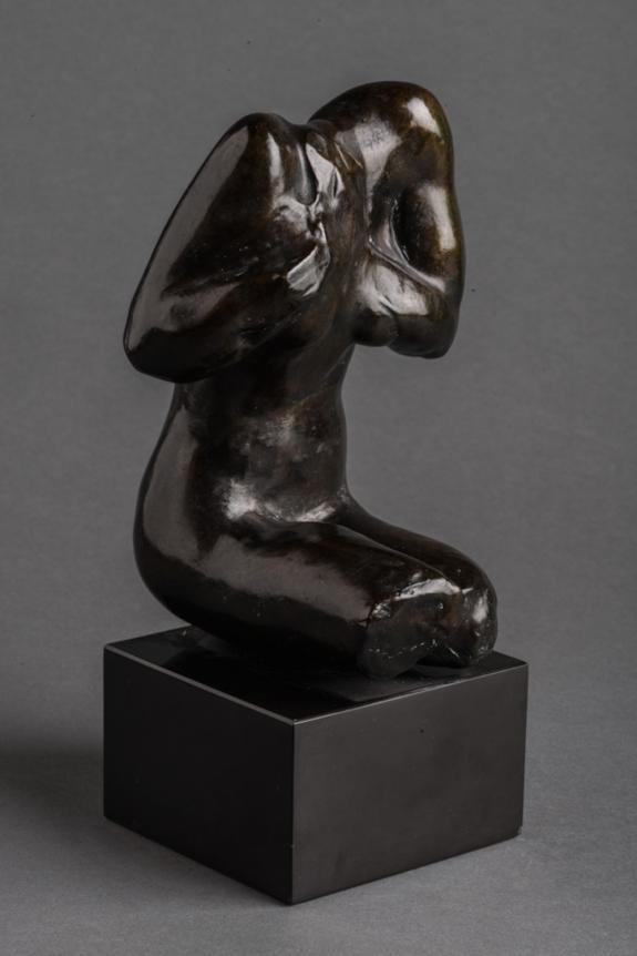 Auguste Rodin, Torso de Femme, Bronze sculpture