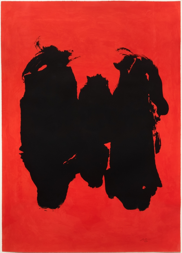Robert Motherwell, Three Figures, Lithograph