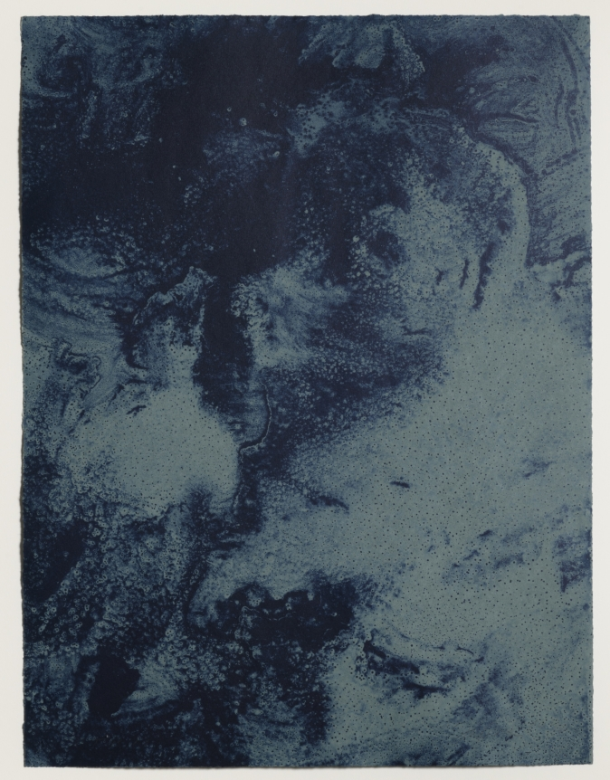 Joe Goode, Ocean Blue lithograph 23 (Color Test Print #13), 1990
