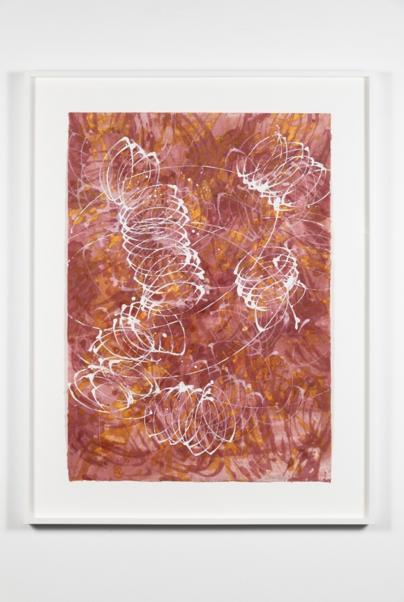 Marc Katano, New York Loops 061, monotype, 2006