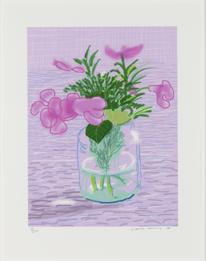 David Hockney, Untitled, ipad drawing