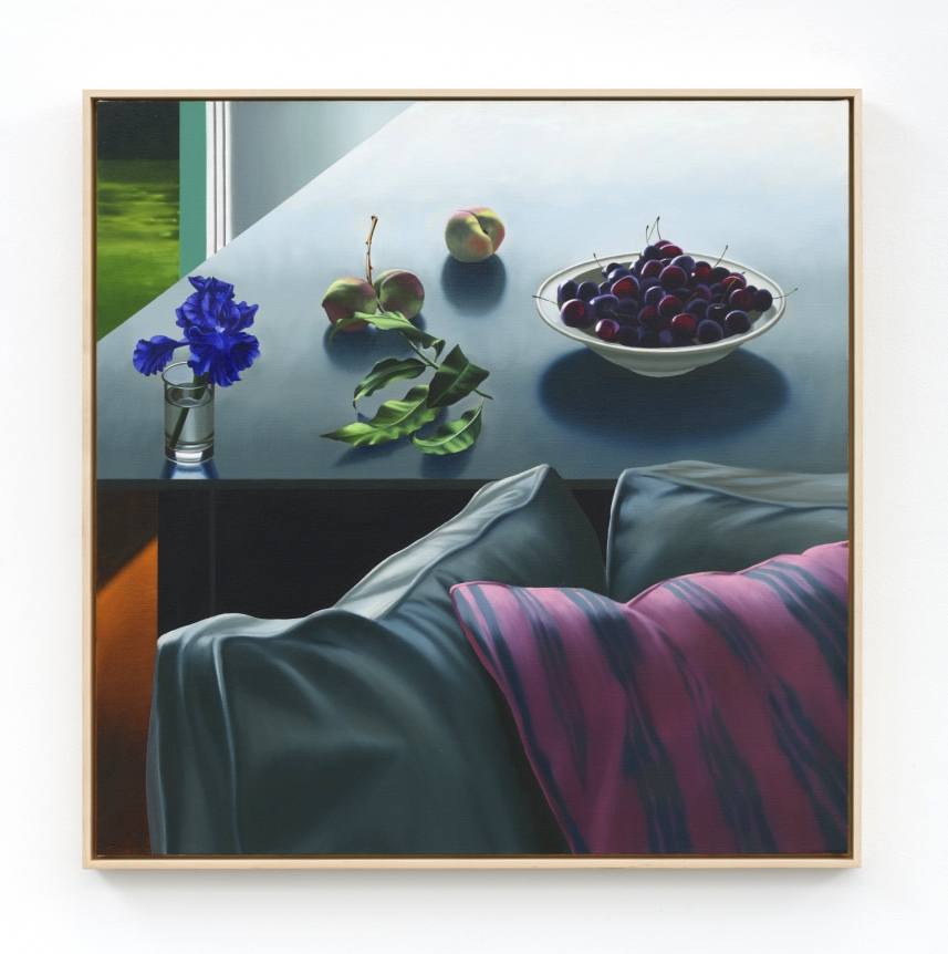 Bruce Cohen, Couch and Table, 2019, Oil on canvas