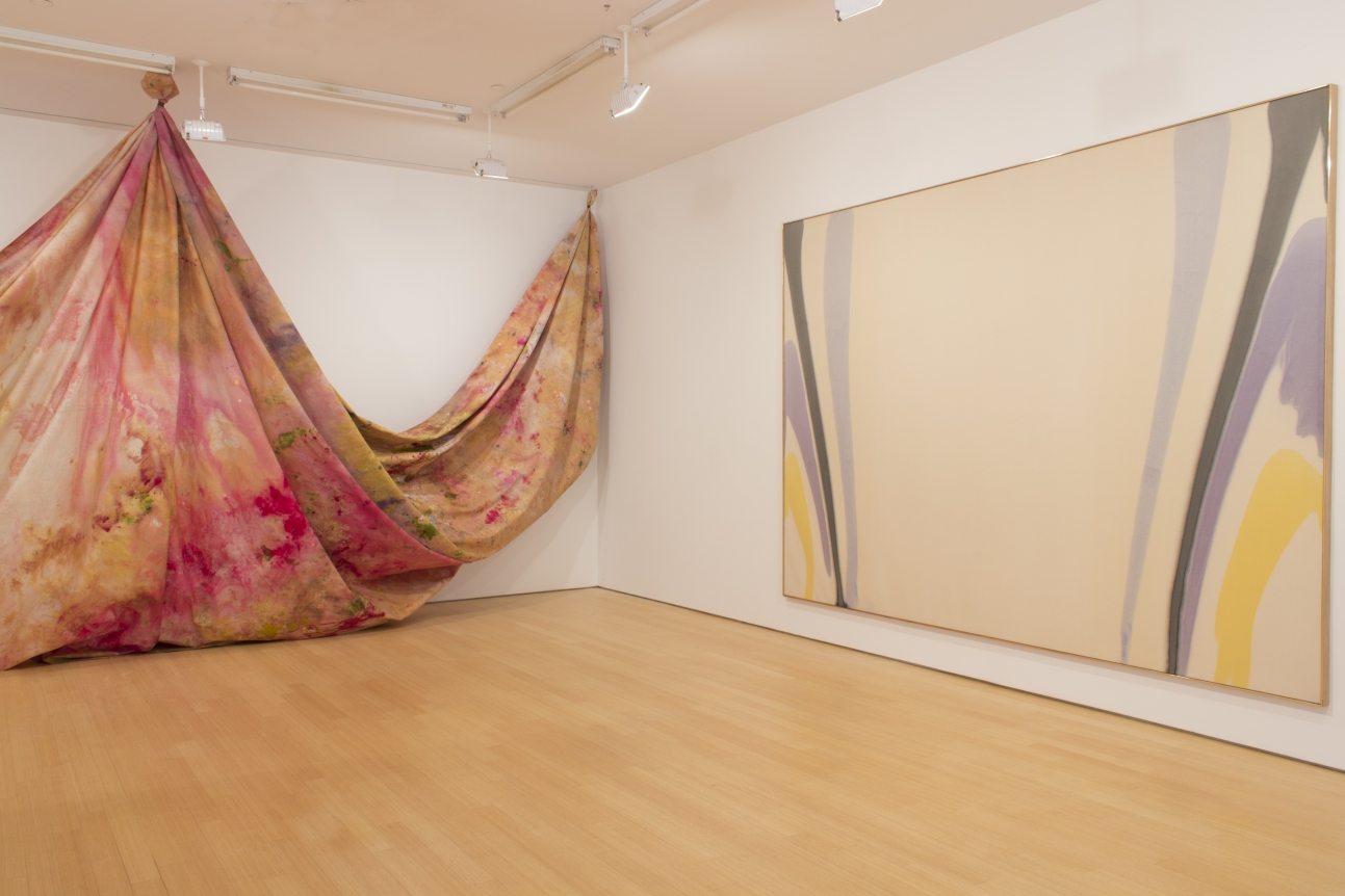 SAM GILLIAM, Situation VI (formally Carrousel Change), c. 1972​, MORRIS LOUIS, Gamma Alpha, 1960​