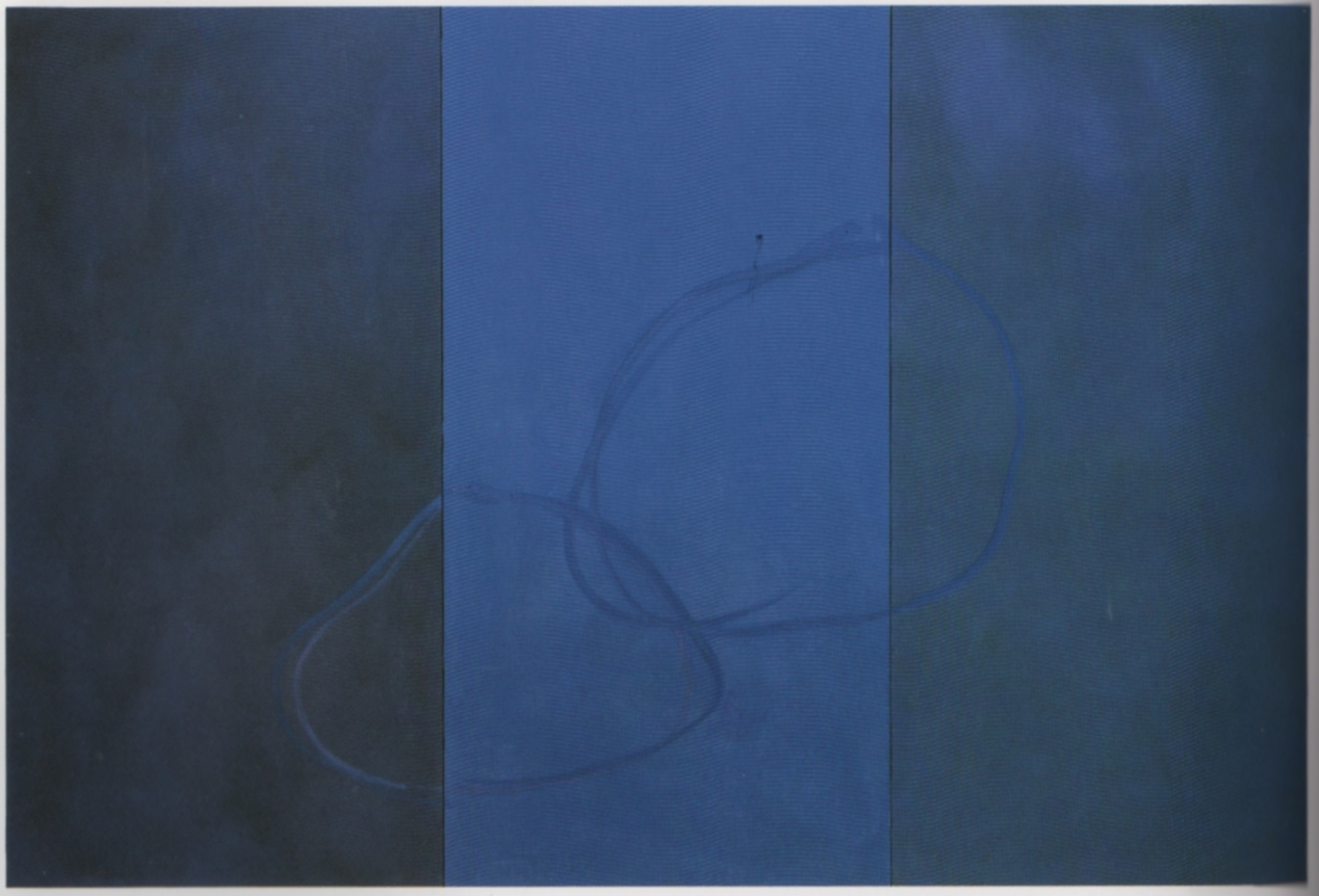 Cleve Gray Blue Circles