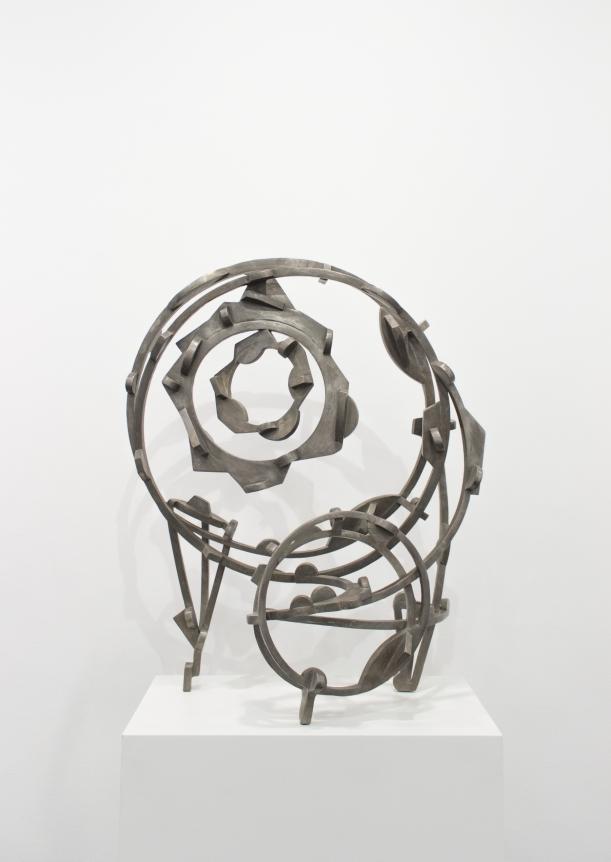 Joel Perlman metal sculpture
